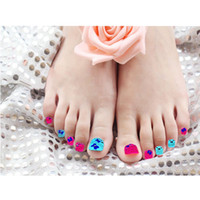 Wholesale 11 Styles D Glitter One Sheet Nail Art Stickers Patch Fingers Toes nail art decorations Tips Nail Sticker Styling tools