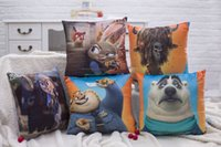 Wholesale NEW Retail Zootopia Hold pillow Plush Toy Judy Hopps Nick Wilde pp cotton x38cm pillow designs S188 EMS shipping