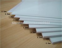 abs plastic sheeting - Pure White ABS Plastic Sheet x x mm ABS Board ABS Plate