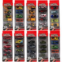Wholesale 5pcs cars miniatures hot sale Original race cars scale models mini alloy cars toy for boys hobby collection