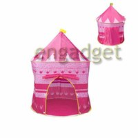 Wholesale 25pcs Indoor Outdoor Children Game House Baby Beach Tents Princess Prince Palace Kid Castle Indoor Toys Tent Christmas Gifts