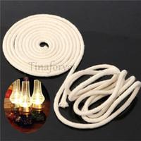 Wholesale Round Cotton Kerosene Oil Lamp Wicks Burner Diameter cm Thick Soft