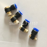 Wholesale Fedex PH Pneumatic Hex Head Air Fitting mm Tube Push In To quot inch Quick Connector Pipe Hose Joint
