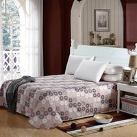 Wholesale cotton fitted sheet cm queen QBS042