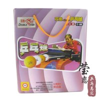 double fish table tennis - Original Double fish training ball no stars wholesales table tennis rackets racquet sports table tennis blade balls pingpong balls