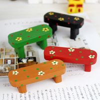 bali resin - Bali Taste Resin Bench Miniature Mini Polyresin DollHouse Furniture Children Play House Toys Home Decoration Accessories