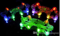 Wholesale Factory five star LED light glasses flashing Disco Party Supplies Toy toy toys novelty items Light Up Creative