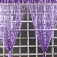 Wholesale Novelty Heart Decor Window Room Line Curtain String Tassel Door Curtain Divider String Curtain DHL