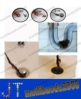Wholesale Drain Sink Cleaner Bathroom Unclog Sink Tub Toilet Snake Brush Hair Removal Tool MYY12373A
