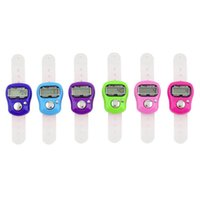 Wholesale 1pcs Stitch Marker And Row Finger Counter LCD Electronic Digital Tally Counter Hot Worldwide