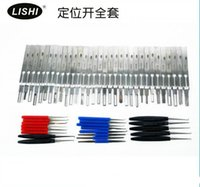 Wholesale LISHI Series track pick Auto Lock Pick Set Newly Add Renault FR and Geely Locksmith Tools Lock Pick Set Tool Supplies