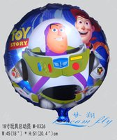 Wholesale Hot sell a inch toy story cartoon design party decoratio balloon children toy balloon