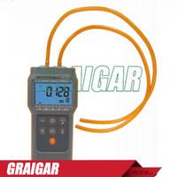 Wholesale Digital Manometer Differential Pressure Meter units Selectable Datalogger RS232 AZ82012