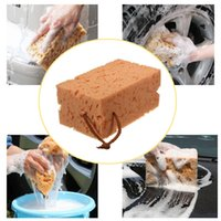 Wholesale 8cm Thick Honeycomb Macroporous Coral Car Cleaning Washing Wash Soft Sponge Home order lt no track