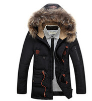 Wholesale 2015 Time limited Limited Napapijri Jacket Men Winter Men Duck Down Fur Collar Coat Outerwear Warm Hooded Parka Jacket