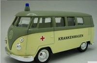 ambulance bus - 2016 Fashion Cute Min Welly Ambulance Bus Van Pull Back Simulation Car Model Alloy Car Model Toy Gift B1063