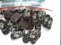 aries ox - TSB0476 Tibet Ox Bone carved ARIES amulets Charms good jewelry accessories Rectangle