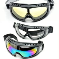 Wholesale Outdoor Sport Ski Goggles UV400 Men Protection Windproof Glasses Motorcycle Cycling Ski Eyewear Colorful Lens Fast Shipping