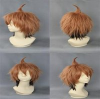 Cheap Cheapest Cartoon Characters Cosplay Hair Short Heat Resistant Synthetic Hair Best Quality Cosplay Anime Wigs CB018