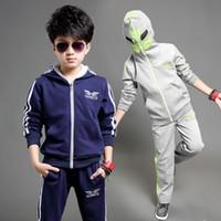 teen clothes - NEW Y Y teen boys clothing set zipper Batman coat pants children sports suit fashion boys sets kids school clothes for sport