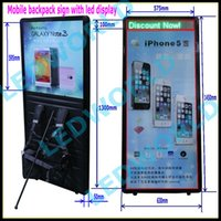 backpack advertising display - outdoor walking advertising mobile programable backpack led display