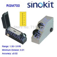 Wholesale Gem Refractometer Economic Jewelry Tester RGM With Built in LED Lights and Indentify singly doubly gemstones