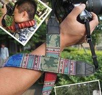 Wholesale New Vintage style Camera Shoulder Strap Neck Strap Neck Belt For all DSLR Camera