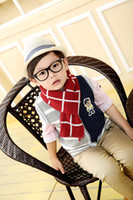 Wholesale DHL Winter scarves Korean boys handsome plaid scarves fashion warm scarves knitted scarf factory direct high quality