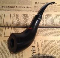 Cheap Authors wholesale import more Matakichi Ebony   briar pipe tobacco beautifully designed bucket consult in or out of stock