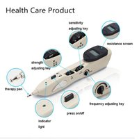 acupuncture acupressure - Electric Energy Meridian Pen Acupuncture Pen Pain Therapy Electronic Pulse Massage Infrared Laser Health Car Acupressure Tools Bian Stone
