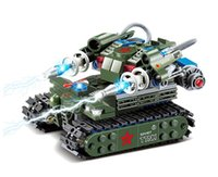 Wholesale Red alert D construction Star Wars Building Blocks Sets Military Army Tesla Tank children toys Gifts