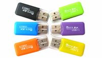 Wholesale New Arrival Whistle shaped USB T flash Memory Card Reader TF Card Micro SD Card Reader HZ