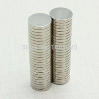 Wholesale 50PCS Silver N52 Super Strong Round Disc mm X mm Rare Earth Neodymium magnet