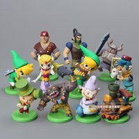 Wholesale The Legend of Zelda PVC Action Figure Collection Model Dolls set Good Quality