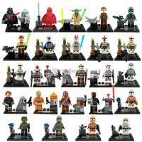 star wars - Star Wars Minifigures The Force Awakens Clone Trooper Yoda Building Blocks Sets Model Bricks Toys For Children