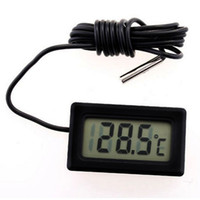 Wholesale New Mini Digital LCD Thermometer Temperature Sensor Fridge Freezer Thermometer