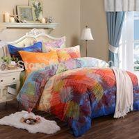 bedding fashion bedsheet - Real New Fashion Cotton Bedding Sets sheet king Bedclothes Comforter duvet Cover Bed Set Bedsheet