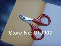 Wholesale cm Small Trimmer for Pet Dog Cat Nail Clippers Scissors Grooming Colors V5201