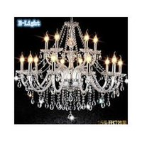 Wholesale Modern Chandelier Lustre Crystal Chandeliers Arms Optional Lustres De Cristal Chandelier LED Without Lampshade