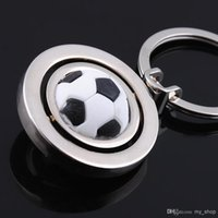 corporate gift - Leather Football Keychain Corporate Gifts Metallic keychain Keyring KC531