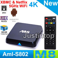 Cheap Quad Core M8 Android TV Box Best Included 1080P (Full-HD) M8 Smart TV BOX