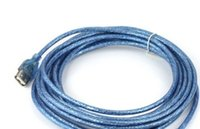 usb active extension cable - Good quality ft M USB male to female Active Repeater Extension Cable Blue