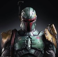 Wholesale Star Wars Boba Fett Action Figure Bounty Hunter Boba Fett Collection Model Brinquedos Play Arts Kai Star Wars PVC Figure Toys