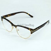 2015 new cat eye frame eyeglasses fashion optical frame professional lenses replaceable special design with 4 colors