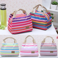 Wholesale Portable Insulated Thermal Cooler Lunch Box Carry Tote Storage Bag Travel Picnic