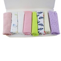 Wholesale Baby Kids Soft Bath Washing Handkerchief Towels Multi Colors Hand Face Cloth