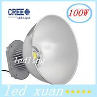Wholesale 100W LED High Bay Light V Industrial LED Lamp Degree High Bay Lighting LM Led Lights for Workshop Factory CE ROHS Approval