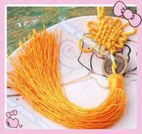 antique car interiors - 20pcs a2 Traditional Cute Chinese Knots Pretty Lucky Car Hanging Accessories DIY Weaving Craft Pendant Interior Decorations
