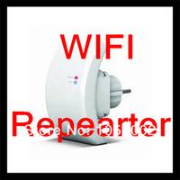 Wholesale BY DHL OR FEDEX pieces Wifi Repeater N B G Network Router Range Expander M dBi Antennas US EU AU Plug Retail Box