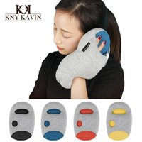 Wholesale Cool Magical Ostrich Pillow Mini Light Comfortable Office Nod Off Portable Napping Travelling Glove Arm Hand Pillow Cool Gift